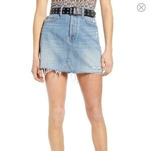 Lovergirl Denim Miniskirt